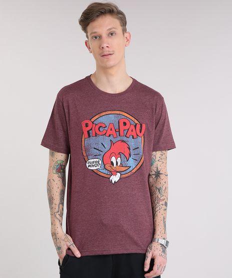 Camiseta-Masculina-Pica-Pau-Manga-Curta-Gola-Careca-Vinho-9228310-Vinho_1
