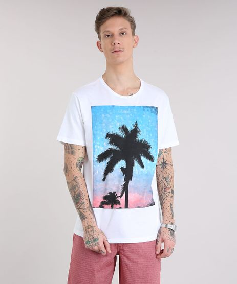 Camiseta-Masculina-Coqueiro-Manga-Curta-Gola-Careca-Off-White-9190316-Off_White_1