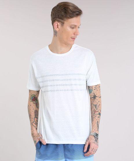 Camiseta-Masculina-com-Listras-Manga-Curta-Gola-Careca-Off-White-9228396-Off_White_1