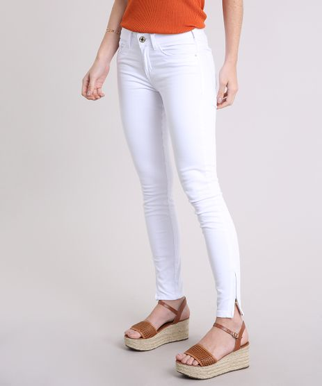 Calca-Feminina-Super-Skinny-com-Ziper-na-Barra-Branca-8226813-Branco_1