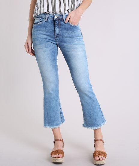 Calca-Jeans-Feminina-Cropped-Flare-Cintura-Alta-Barra-Desfiada-Azul-Claro-9225948-Azul_Claro_1