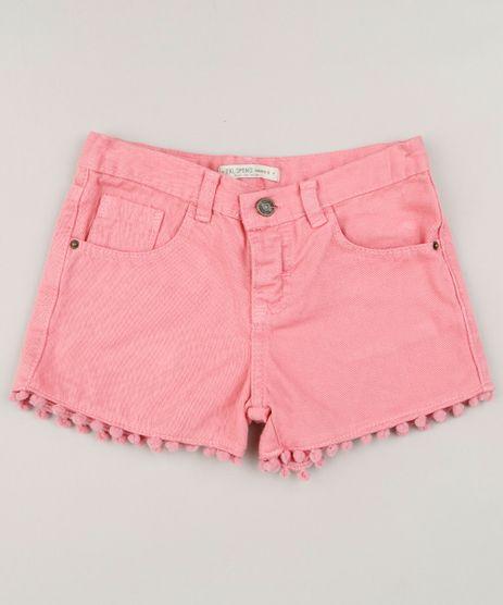 Short-Color-Infantil-Barra-com-Pompom-Rosa-9227857-Rosa_1
