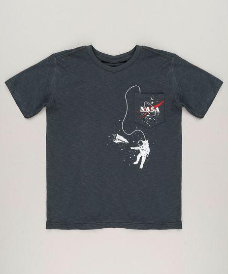 Camiseta-Infantil-Espacial-Astronauta-Manga-Curta-Gola-Careca-Chumbo-9227400-Chumbo_1