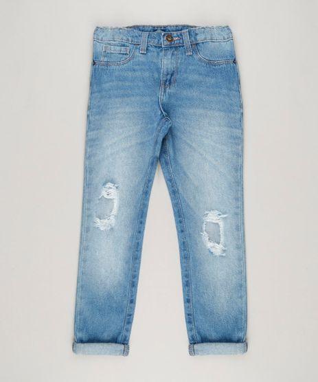 Calca-Jeans-Infantil-Mom-Pants-com-Rasgos-Azul-Claro-9217172-Azul_Claro_1