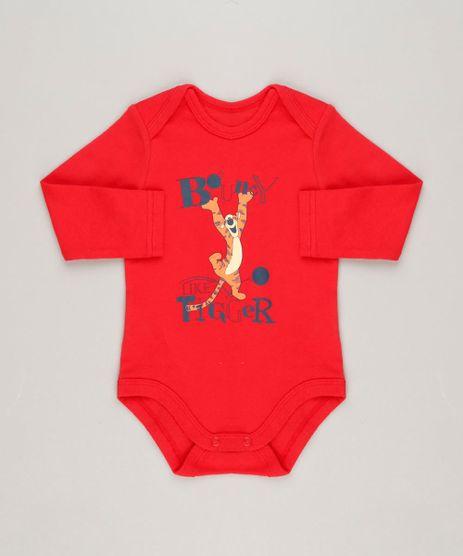 Body-Infantil-Tigrao-Manga-Longa-Gola-Careca-em-Algodao---Sustentavel-Vermelho-9124375-Vermelho_1