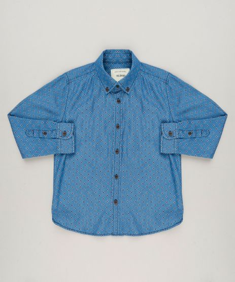 Camisa-Jeans-Infantil-Estampada-Manga-Longa-Azul-Medio-9161143-Azul_Medio_1