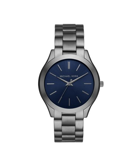 Relógio Michael Kors Feminino Essential Slim Runway Grafite - MK8584 1KN -  cea 386565b73e