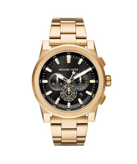 10d42d1545c Relógio Michael Kors Unissex Essential Grayson Dourado - MK8599 1DN - cea
