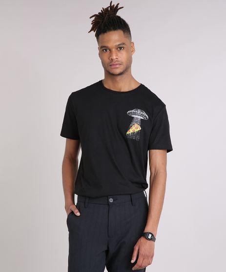Camiseta-Masculina-Pizza-Manga-Curta-Gola-Careca-Preta-9102767-Preto_1