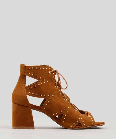 Sandalia-Feminina-Lace-Up-com-Tachas-Caramelo-9239596-Caramelo_1
