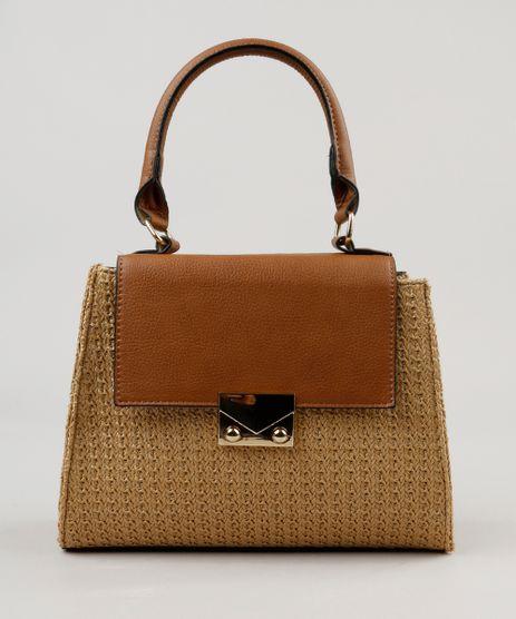 Bolsa-Transversal-com-Textura-de-Palha-Caramelo-9194449-Caramelo_1
