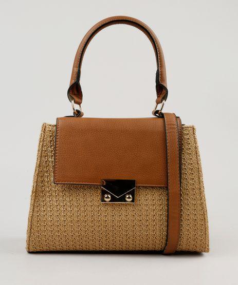 Bolsa-Transversal-com-Textura-de-Palha-Caramelo-9194449-Caramelo_2