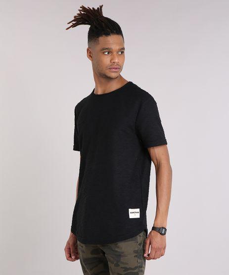 Camiseta-Masculina-Texturizada-Manga-Curta-Gola-Careca-Preta-9204681-Preto_1