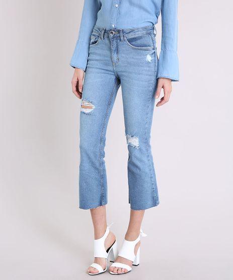 Calca-Jeans-Feminina-Cropped-Flare-Cintura-Alta-Barra-Desfiada-Azul-Claro-9222212-Azul_Claro_1