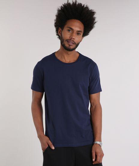 Camiseta-Masculina-Basica-Manga-Curta-Gola-Careca-Azul-Marinho-8639024-Azul_Marinho_1