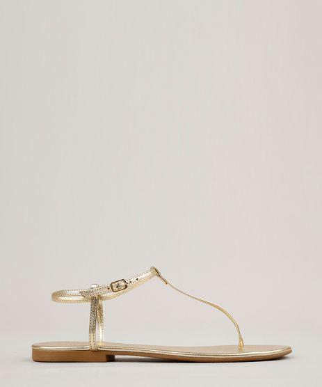 Rasteira-Feminina-Metalizada-Dourado-9259869-Dourado_1