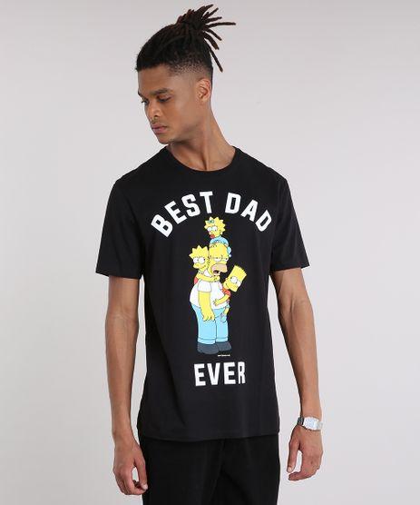 Camiseta-Masculina-Tal-Pai-Tal-Filho--Best-Dad-Ever--Os-Simpsons-Manga-Curta-Gola-Careca-Preta-8668241-Preto_1