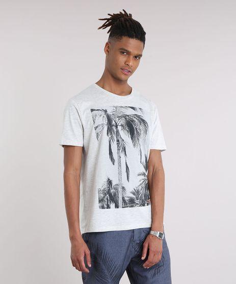 Camiseta-Masculina-com-Estampa-de-Coqueiros-Manga-Curta-Gola-Careca-Cinza-Mescla-Escuro-9190306-Cinza_Mescla_Escuro_1