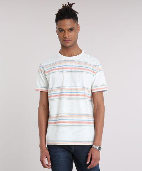 Camiseta-Masculina-Listrada-Manga-Curta-Gola-Careca-Amarela-Claro-9229792-Amarelo_Claro_1