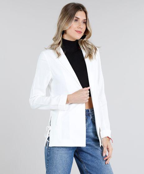 a8858d39a5 Moda Feminina - Casacos e Jaquetas - Blazers Branco – cea