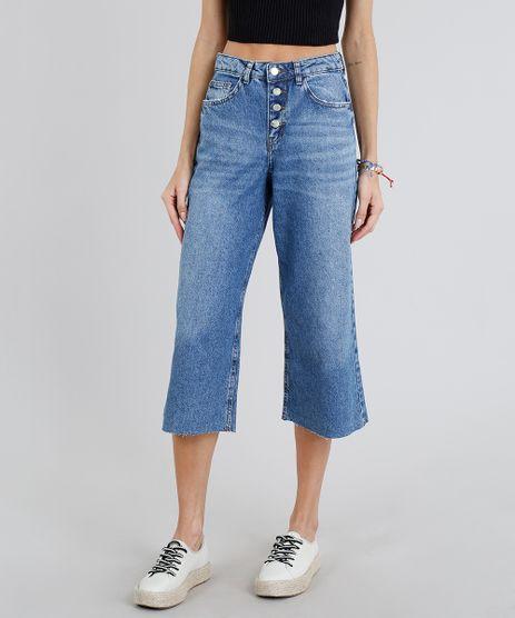 Calca-Jeans-Pantacourt-Feminina-com-Barra-Desfiada-Azul-Claro-9217859-Azul_Claro_1