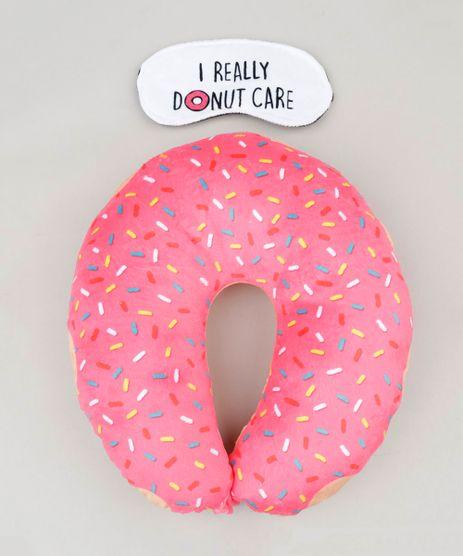 Kit-de-Apoio-de-Cabeca---Tapa-Olho-Estampado-de-Donut-9237098-Multicor_1