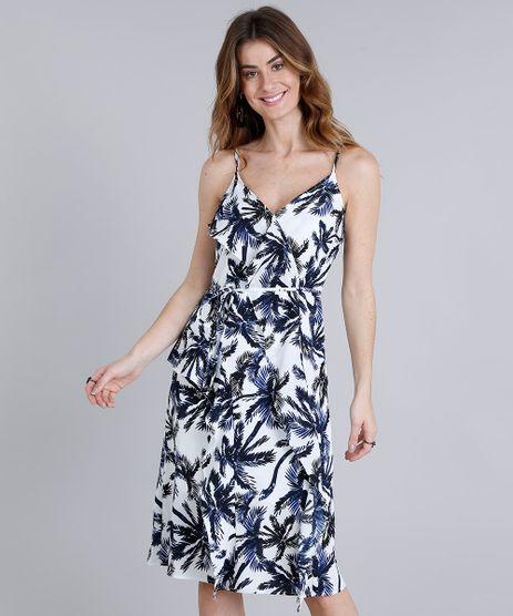 Vestido-Feminino-Midi-Estampado-de-Coqueiros-com-Babado-Alcas-Finas-Decote-V-Off-White-9183734-Off_White_1