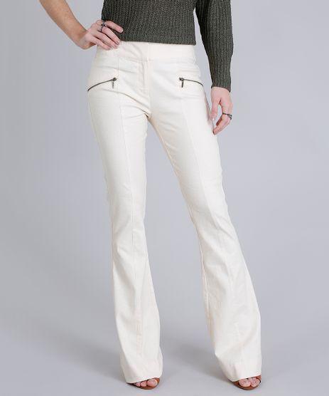 Calca-Feminina-Flare-em-Linho-com-Ziper-Bege-Claro-9189775-Bege_Claro_1
