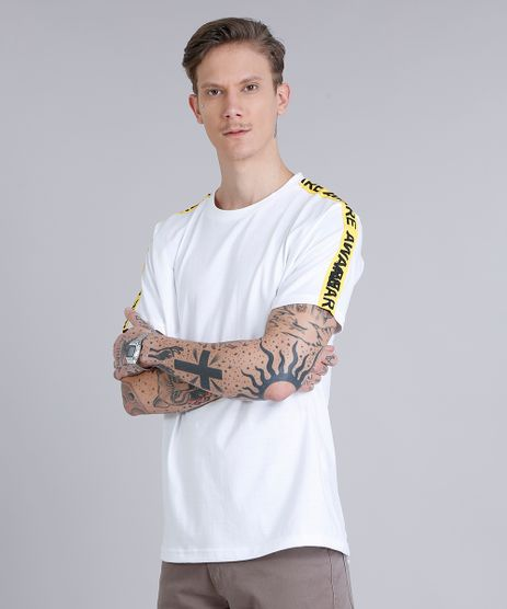 Camiseta-Masculina-Faixa-Lateral--Aware--Manga-Curta-Gola-Careca-Off-White-9216368-Off_White_1