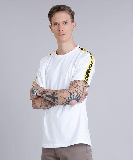 c984ea4072 Camiseta Masculina Faixa Lateral