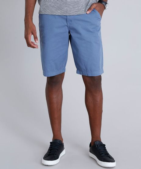 Bermuda-Masculina-Reta-com-Cinto-Cadarco-Listrado-Azul-Claro-9101152-Azul_Claro_1