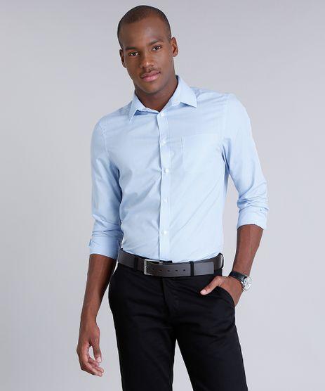 Camisa-Masculina-Comfort-com-Bolso-Manga-Longa-Azul-Claro-7591834-Azul_Claro_1