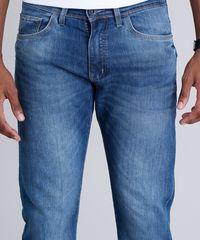 b3e5a95904 Calça Jeans Masculina Reta com Bolsos Azul Escuro - ceacollections
