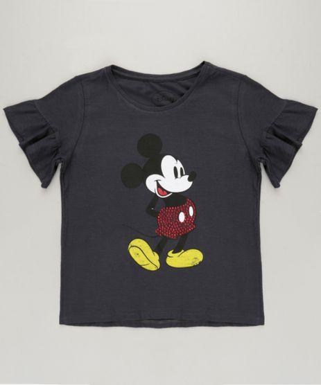 Blusa-Infantil-Mickey-Manga-Curta-com-Babado-Decote-Redondo-Chumbo-9233125-Chumbo_1