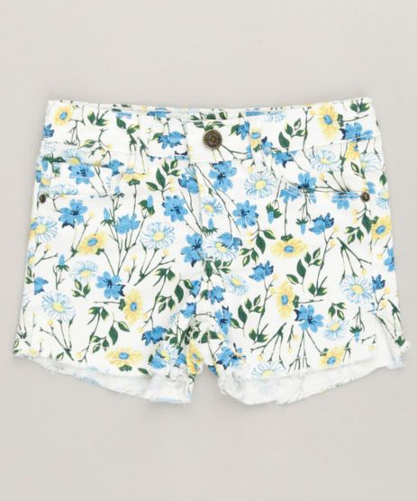 Short-Color-Infantil-Estampado-Floral-Off-White-9232400-Off_White_1