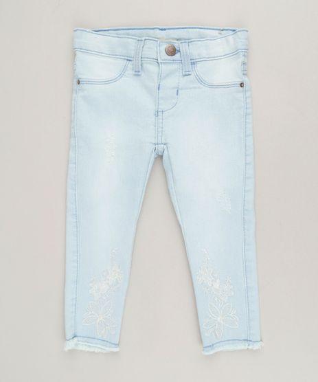 Calca-Jeans-Infantil-com-Bordado-e-Barra-Desfiada-Azul-Claro-9228372-Azul_Claro_1