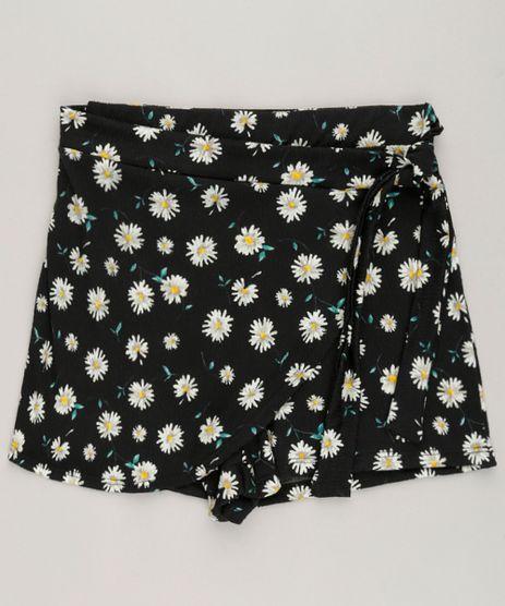 Short-Saia-Infantil-Estampado-Floral-Preto-9228796-Preto_1