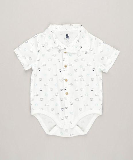 Body-Polo-Infantil-Estampado-de-Bichos-Manga-Curta-em-Algodao---Sustentavel-Off-White-9118880-Off_White_1