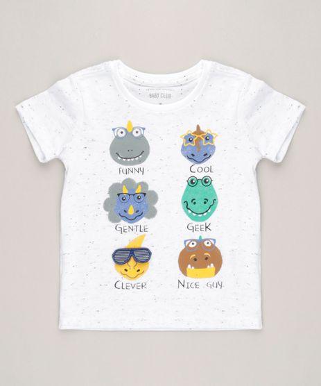 Camiseta-Infantil-com-Estampa-Interativa-de-Bichos-Manga-Curta-Gola-Careca-Off-White-9227836-Off_White_1
