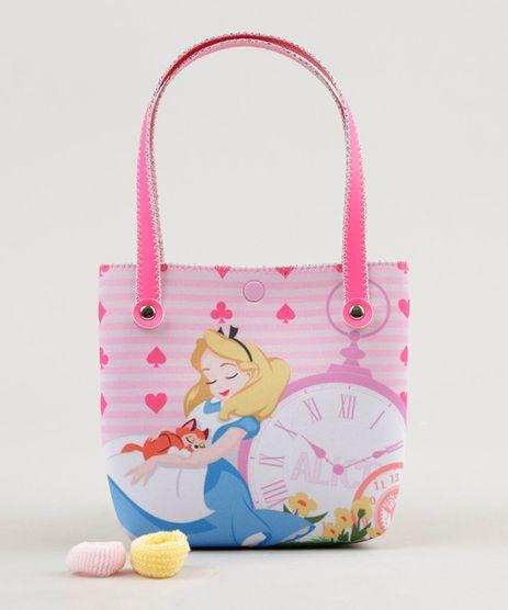 Bolsa-Infantil-Alice-no-Pais-das-Maravilhas---Elasticos-de-Cabelo-Rosa-9126689-Rosa_1