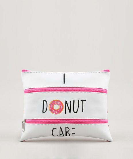 Necessaire-Feminina--I-Donut-Care--com-Divisorias-Branca-9238329-Branco_1