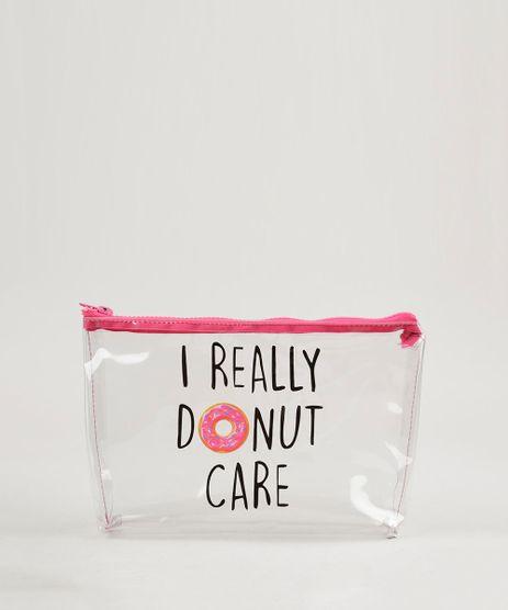 Necessaire-Feminina--I-Really-Donut-Care--Rosa-Pink-9238322-Rosa_Pink_1