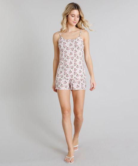 Short-Doll-Feminino-Estampado-Floral-Alcas-Finas-Rose-9218979-Rose_1