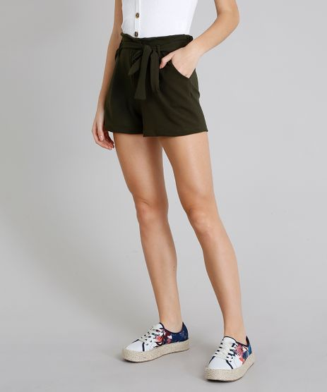 Short-Feminino-Clochard-Verde-Militar-9266416-Verde_Militar_1