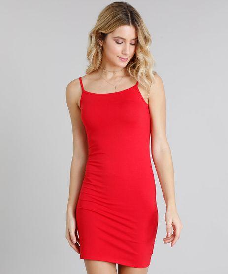 Vestido-Feminino-Basico-Curto-Alca-Fina-Decote-Redondo-Vermelho-9241375-Vermelho_1
