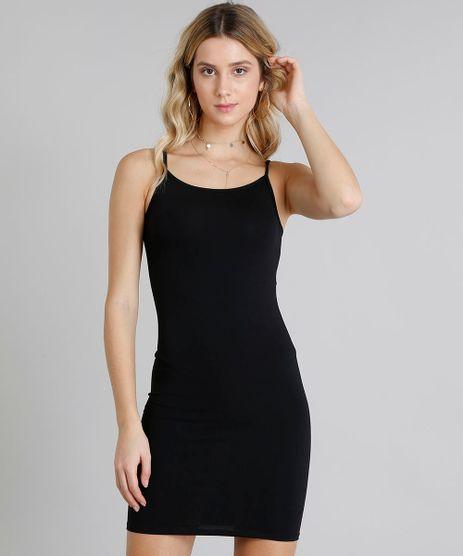 Vestido-Feminino-Basico-Curto-Alca-Fina-Decote-Redondo-Preto-9241375-Preto_1