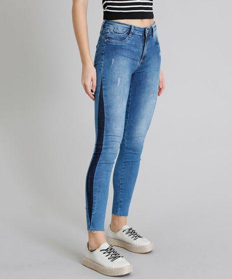 Calca-Jeans-Feminina-Sawary-Super-Skinny-Push-Up-Faixa-Lateral-Azul-Medio-9240766-Azul_Medio_1