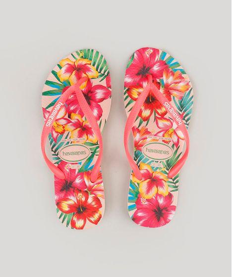 b01e0327d1cb Chinelo Feminino Estampado Havaianas Slim em 2018 Products