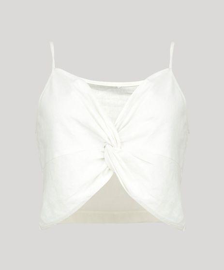 Top-Feminino-em-Linho-com-No-Alcas-Finas-Decote-V-Off-White-9258515-Off_White_2