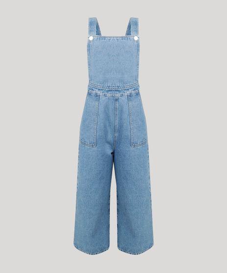 Macacao-Jeans-Feminino-Pantacourt-com-Bolsos-Azul-Claro-9314905-Azul_Claro_2
